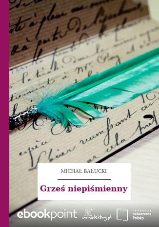 Okładka książki/ebooka Grześ niepiśmienny