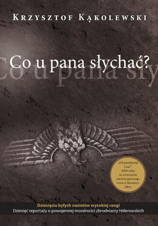 Okładka książki/ebooka Co u pana słychać?