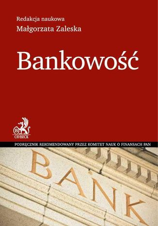Okładka książki/ebooka Bankowość