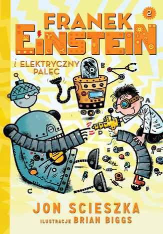 Okładka książki/ebooka Franek Einstein i elektryczny palec