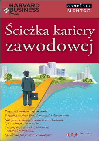 Okładka książki/ebooka Ścieżka kariery zawodowej. Osobisty mentor - Harvard Business Press