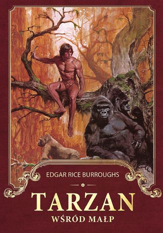 Okładka książki/ebooka Tarzan wśród małp