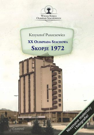 Okładka książki/ebooka XX Olimpiada Szachowa. Skopje 1972