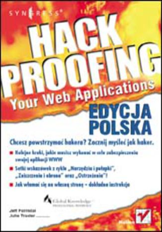 Okładka książki/ebooka Hack Proofing Your Web Applications. Edycja polska