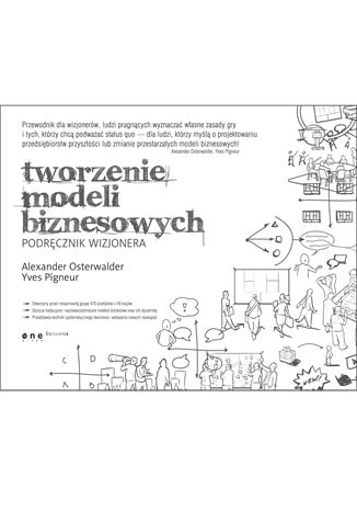 Okładka książki/ebooka Tworzenie modeli biznesowych. Podręcznik wizjonera