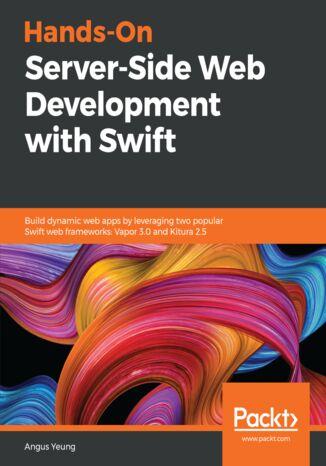Okładka książki/ebooka Hands-On Server-Side Web Development with Swift