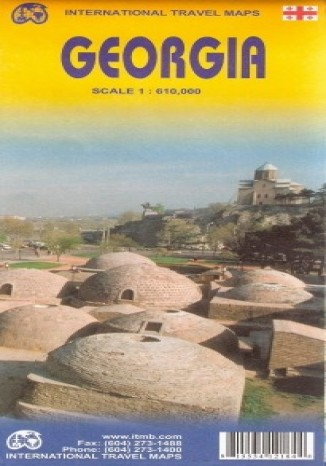 Okładka książki/ebooka Gruzja. Mapa ITMB 1:610 000