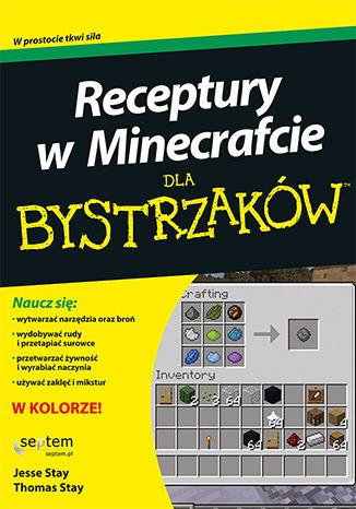 Okładka książki/ebooka Receptury w Minecrafcie dla bystrzaków