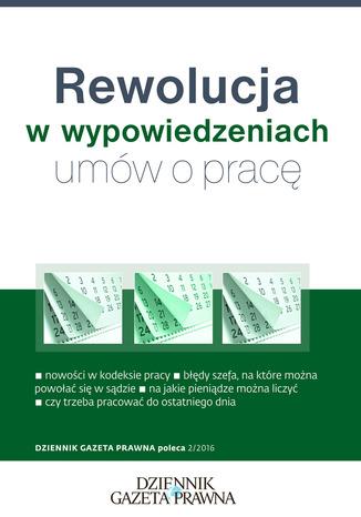 Okładka książki/ebooka Rewolucja w wypowiedzeniach umów o pracę