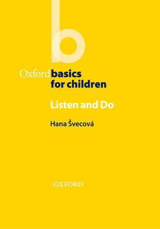 Okładka książki/ebooka Listen & Do - Oxford Basics