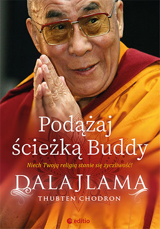 Okładka książki Podążaj ścieżką Buddy