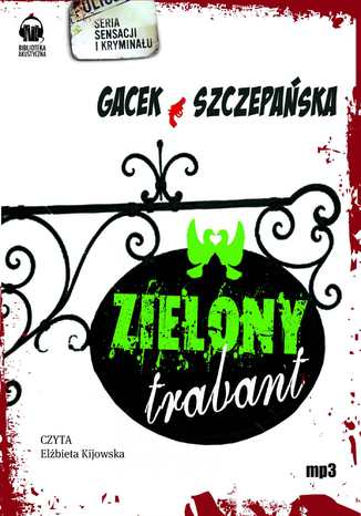 Okładka książki/ebooka Zielony trabant