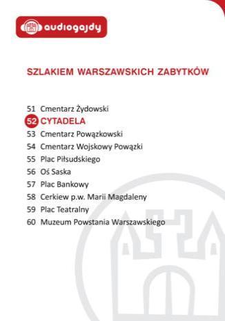 Okładka książki/ebooka Cytadela. Szlakiem warszawskich zabytków