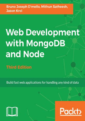 Okładka książki/ebooka Web Development with MongoDB and Node - Third Edition