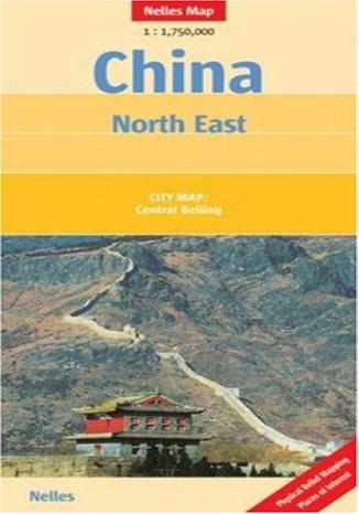 Okładka książki/ebooka Chiny Północno-Wschodnie. Mapa samochodowa