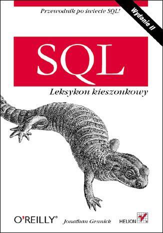 Okładka książki/ebooka SQL. Leksykon kieszonkowy. Wydanie II
