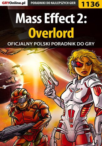 Okładka książki/ebooka Mass Effect 2: Overlord - poradnik do gry