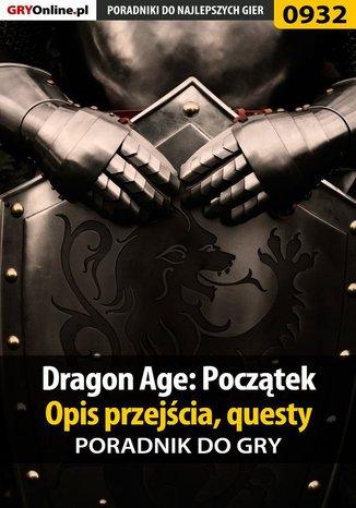 Okładka książki/ebooka Dragon Age: Początek - poradnik do gry