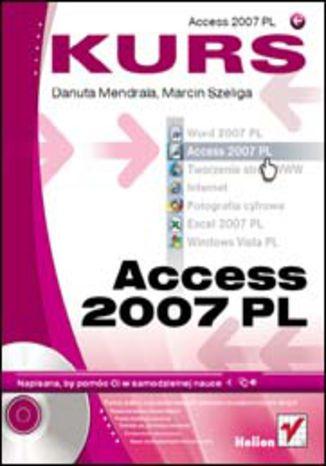 Okładka książki/ebooka Access 2007 PL. Kurs