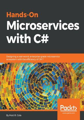 Okładka książki/ebooka Hands-On Microservices with C#