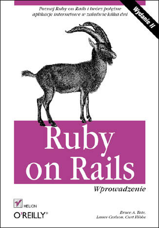 Okładka książki/ebooka Ruby on Rails. Wprowadzenie. Wydanie II