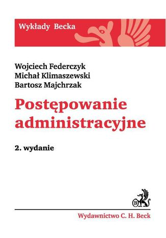 Okładka książki/ebooka Postępowanie administracyjne