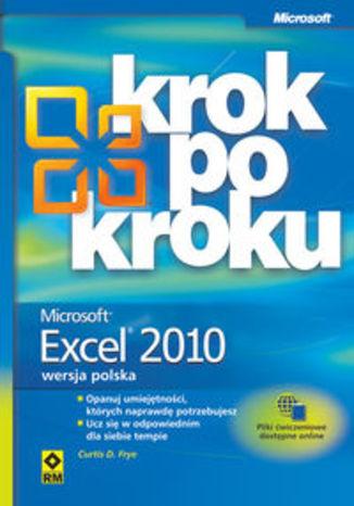 Okładka książki/ebooka Excel 2010 krok po kroku