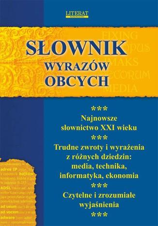 Okładka książki/ebooka Słownik wyrazów obcych