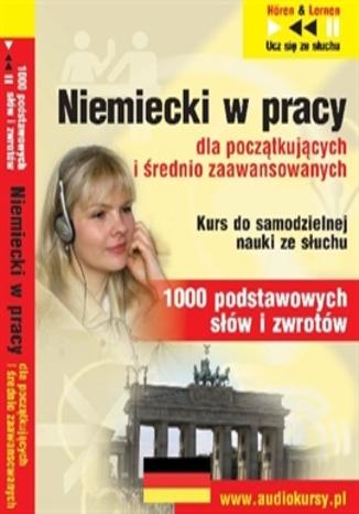 Okładka książki/ebooka Niemiecki w pracy dla początkujących