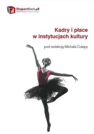 Okładka książki/ebooka Kadry i płace w instytucjach kultury