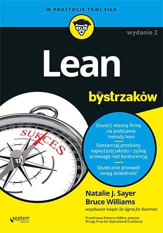 Okładka książki/ebooka Lean dla bystrzaków. Wydanie II