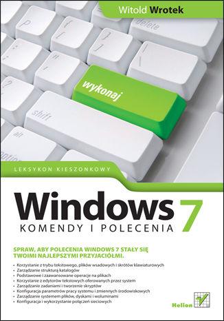 Okładka książki/ebooka Windows 7. Komendy i polecenia. Leksykon kieszonkowy