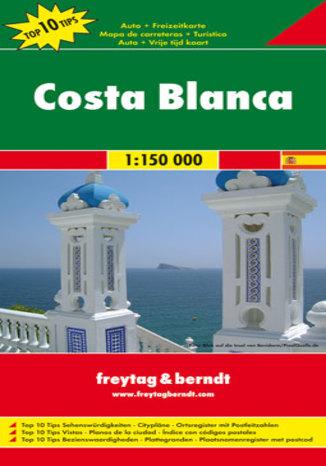 Okładka książki/ebooka Costa Blanca mapa 1:150 000 Freytag & Berndt