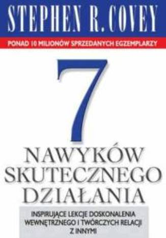 Okładka książki/ebooka 7 nawyków skutecznego działania