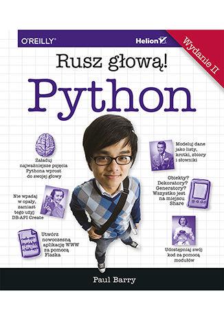 Okładka książki/ebooka Python. Rusz głową! Wydanie II