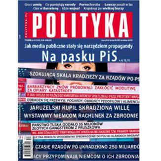 Okładka książki AudioPolityka Nr 34 z 23 sierpnia 2017