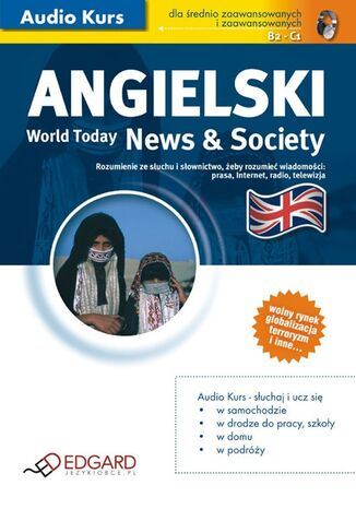 Okładka książki/ebooka Angielski World Today News and Society