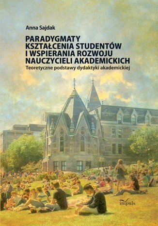 Okładka książki/ebooka Paradygmaty ksztalcenia studentow