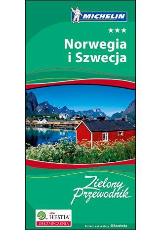 Okładka książki Norwegia i Szwecja. Zielony Przewodnik Michelin