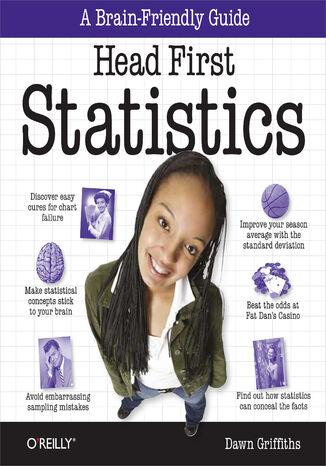 Okładka książki/ebooka Head First Statistics. A Brain-Friendly Guide