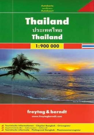 Okładka książki/ebooka Tajlandia. Mapa Freytag & Berndt 1:900 000