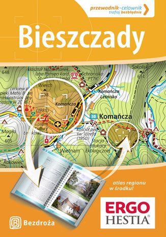 Okładka książki/ebooka Bieszczady. Przewodnik - Celownik. Wydanie 1