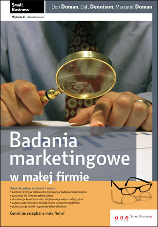 Okładka książki Badania marketingowe w małej firmie. Wydanie II zaktualizowane