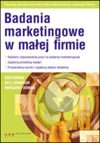 Okładka książki Badania marketingowe w małej firmie