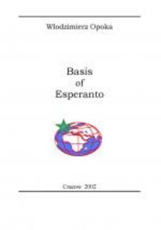 Okładka książki/ebooka Basis of Esperanto