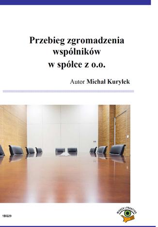 Okładka książki/ebooka Przebieg zgromadzenia wspólników w spółce z o.o