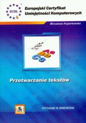 Okładka książki/ebooka ECUK. Przetwarzanie tekstów