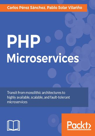 Okładka książki/ebooka PHP Microservices