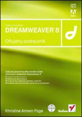 Okładka książki/ebooka Macromedia Dreamweaver 8. Oficjalny podręcznik