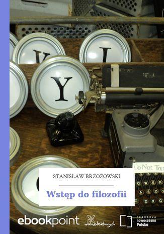 Okładka książki/ebooka Wstęp do filozofii